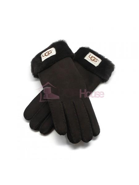 Женские перчатки UGG Black - 1035