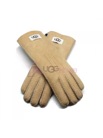 Женские удлиненные перчатки UGG Sand - 1033