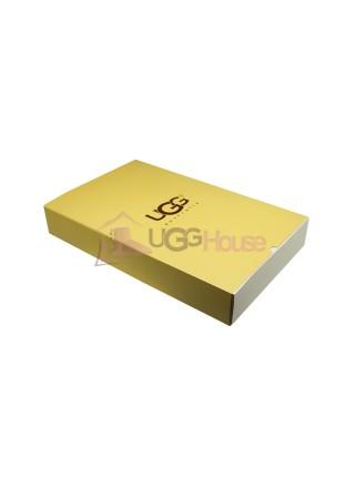 Мужские меховые перчатки UGG Grey Leather - 1002