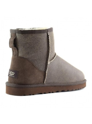 Угги мини шоколад бомберы UGG Australia Mini Bomber Chocolate