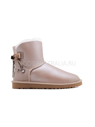 Угги Мини UGG Braid Rose Gold