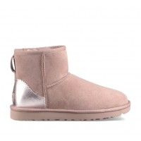 UGG Womens Classic Mini II Metallic Dusk