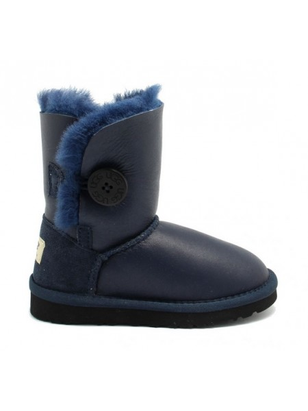 UGG Kids Bailey Button - Navy