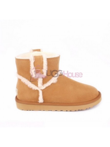 UGG Mini Spill Seam Boot Chestnut