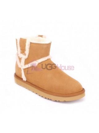 UGG Mini Spill Seam Boot Chestnut