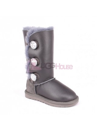 UGG Kids Bailey Bling Triplet Grey