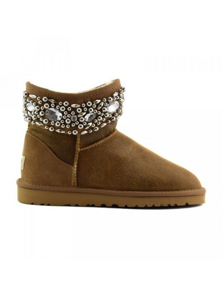 UGG Jewelled Chestnut Bomber