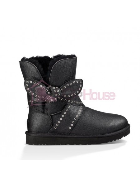 UGG Mabel Skin Black