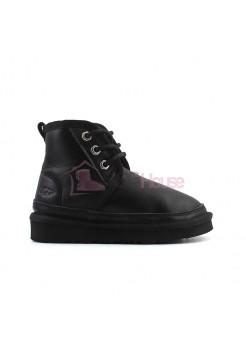 Ботинки Детские Обливные UGG Kids Neumel - Черные