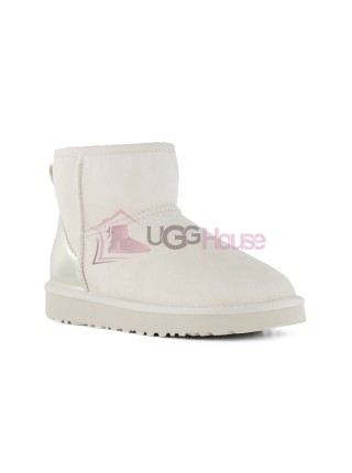 UGG Womens Classic Mini II Metallic Driftwood