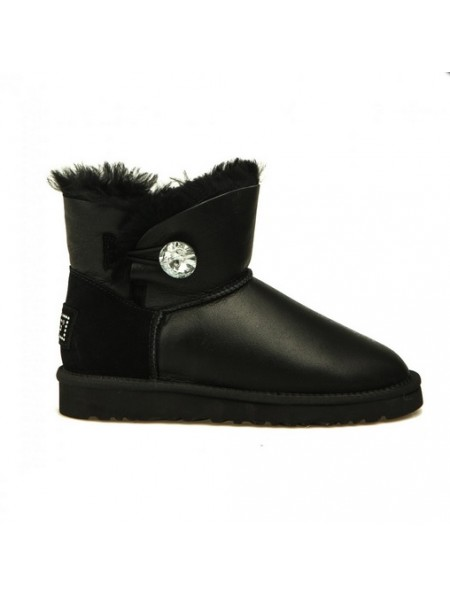 UGG Bailey Bling Mini Black Metallic