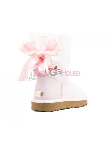 UGG Bailey Bow Customizable - Seashell Pink