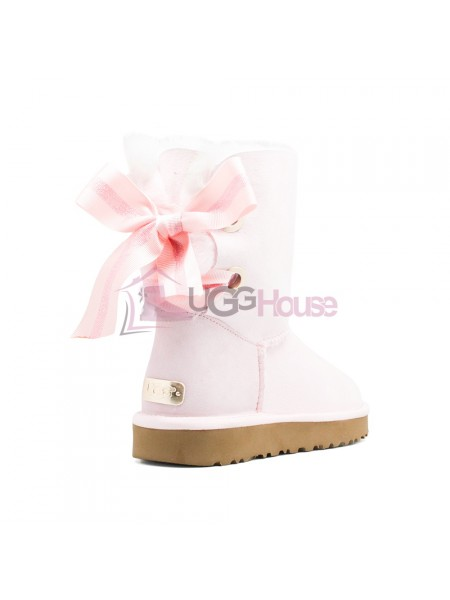 Угги UGG Bailey Bow Customizable - Seashell Pink