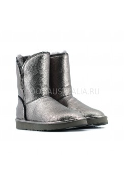 Угги UGG Короткие Кожаные Marice II - Dark Silver