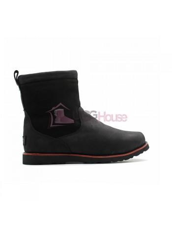 Мужские зимние ботинки с мехом UGG AUSTRALIA Hendren TL Boot Black с молнией
