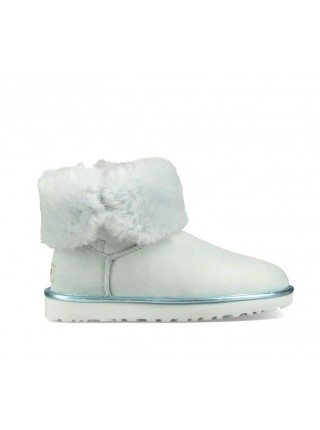 UGG Bailey Button II Metallic - Iceberg
