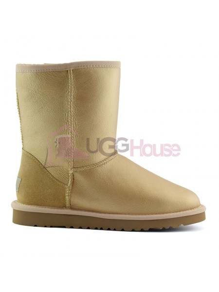 UGG Classic Short Soft Gold