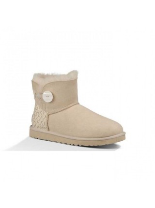 UGG Bailey Button Mini Perla Sand