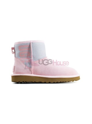 UGG Mini Sparkle Boot - Seashell Pink