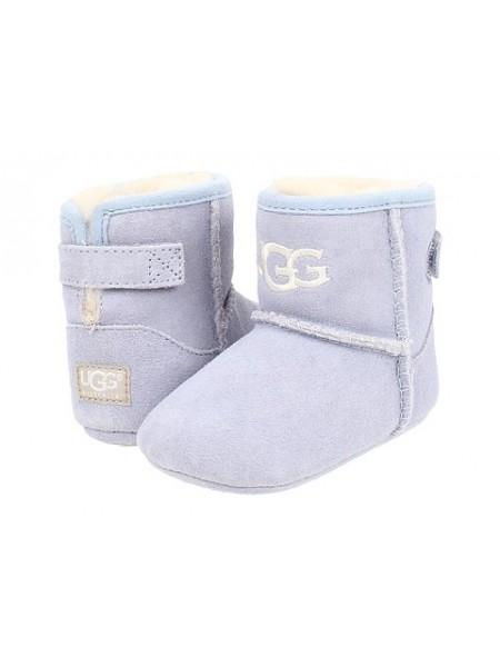 Пинетки для малышей на подошве UGG JESSE - Голубые
