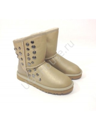 UGG & Jimmy Choo Starlit Soft Gold Угги со звездами