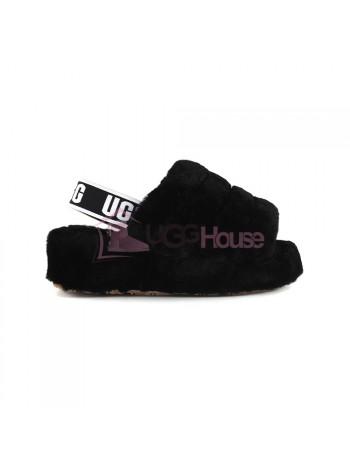 UGG Fluff Yeah Slide - Black