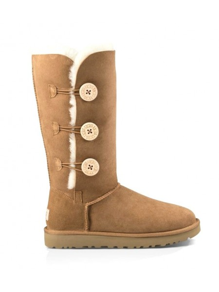 UGG Bailey Button Triplet Chestnut II Непромокаемые