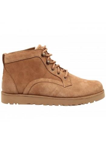 UGG Mens Bethany Chestnut Мужские ботинки угги на шнурках рыжие