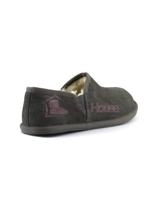Мужские UGG Slippers Scuff Romeo II - Grey