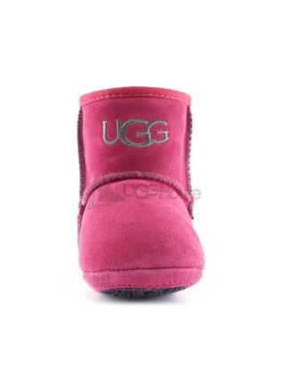 Пинетки для малышей на подошве UGG JESSE - Фуксия