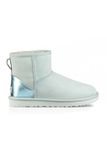 UGG Women's Classic Mini II Metallic Iceberg