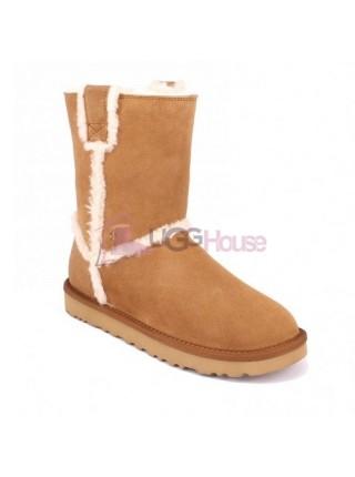 UGG Short Spill Seam Boot Chestnut