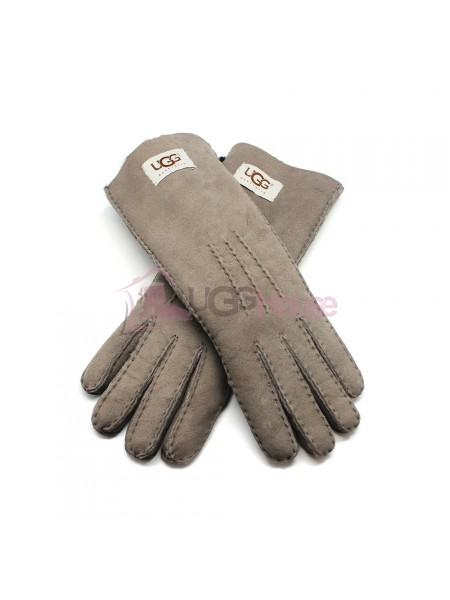 Женские удлиненные перчатки UGG Grey - 1025