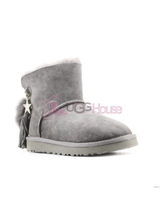 Угги UGG Mini Charm Goat Ash Grey