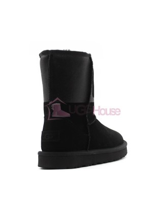 UGG Classic Short Sparkle Boot - Black