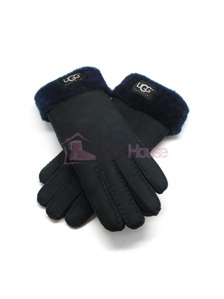 Женские перчатки UGG Navy - 1038