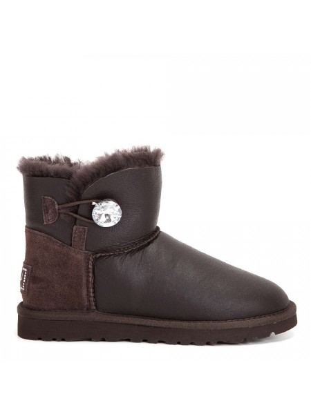 UGG Bailey Bling Mini Chocolate Metallic