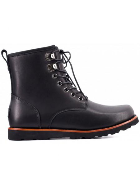 UGG Mens Hannen Black Зимние мужские ботинки