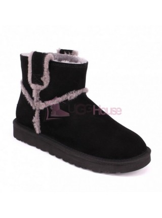 UGG Mini Spill Seam Boot Black