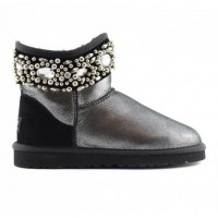 UGG Australia Mini Jewelled Black Glitter