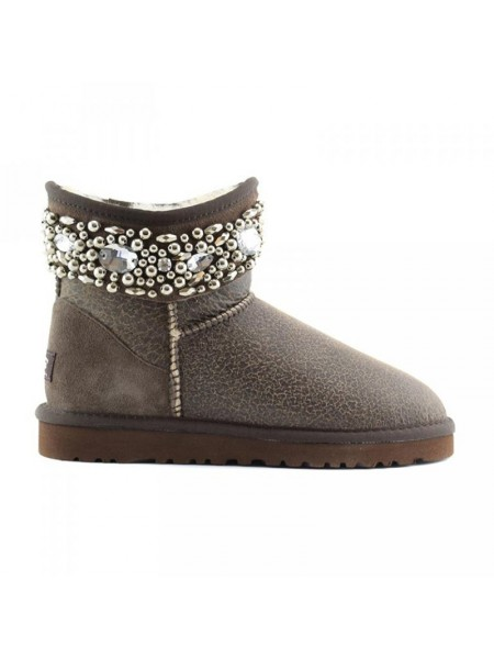 UGG Jewelled Chocolate Bomber