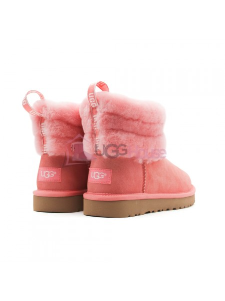 UGG Mini Fluff Quilted Boot - Lantana Розовые