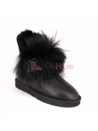 Ugg Fox Gen Metallic Black