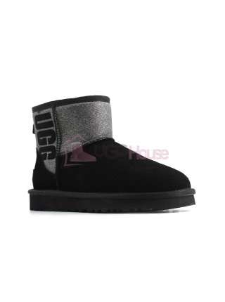UGG Mini Sparkle Boot - Black