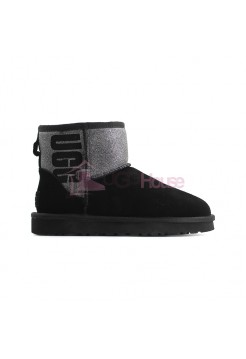 UGG Mini Sparkle Boot - Black
