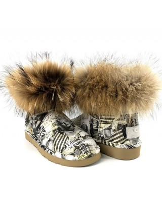 Ugg Jimmy Choo Travel Fox Grey