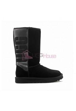 UGG Classic Tall Rubber Boot Black Черные