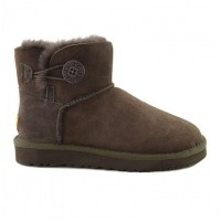UGG Australia Bailey Button Mini II - Chocolate