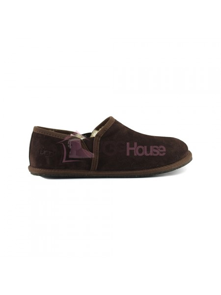 Мужские UGG Slippers Scuff Romeo II - Chocolate