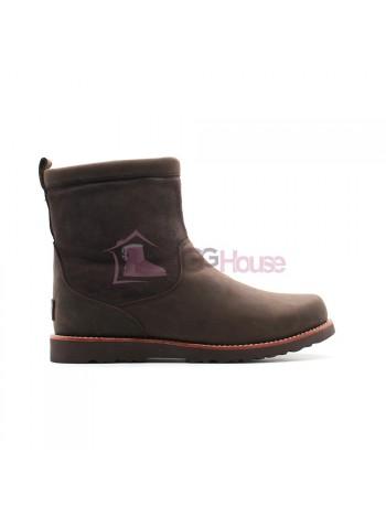 Мужские зимние ботинки с мехом UGG AUSTRALIA Hendren TL Boot Stout с молнией